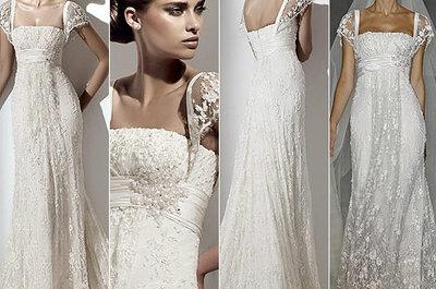 Historia del traje de novia: El vestido de novia de corte imperio