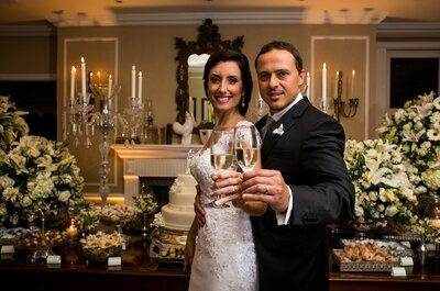 Tatiana & Rodrigo: casamento sofisticado e glamouroso no Rio de Janeiro