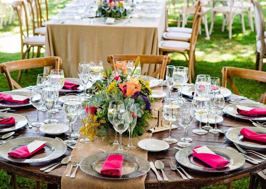 Banquetes para el día más feliz de tu vida por toda la república mexicana