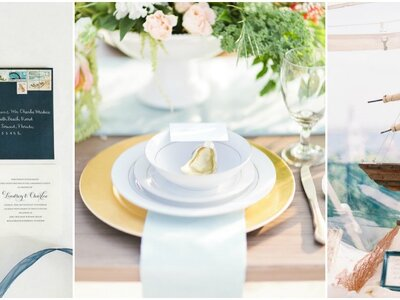Más de 30 ideas para decorar tu matrimonio al estilo marinero. ¡Te vas a sorprender!