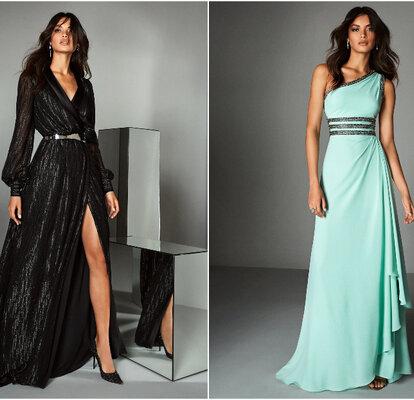 Vestiti Cerimonia Giugno.Abiti Da Cerimonia Pronovias 2020 Glamour E Charme Per L Invitata