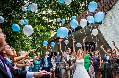 Hoe kies je de kleuren voor de decoratie van je bruiloft: welke kleuren zijn het meest gepast?