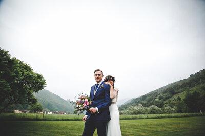 Una boda asturiana muy silvestre: el