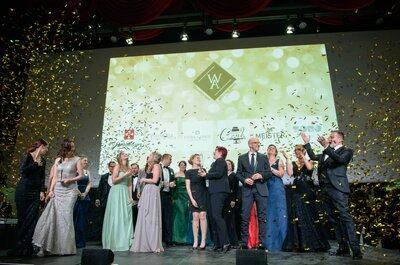 Das sind die Gewinner des 1. Wedding Award Switzerland!