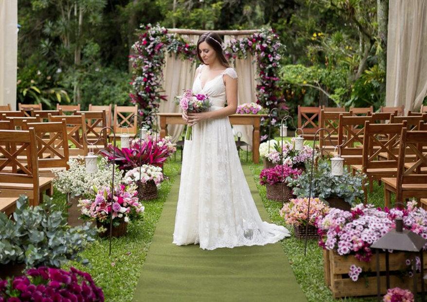 10 ideias maravilhosas para um casamento BOHO! Dê Control C + Control V em todas!
