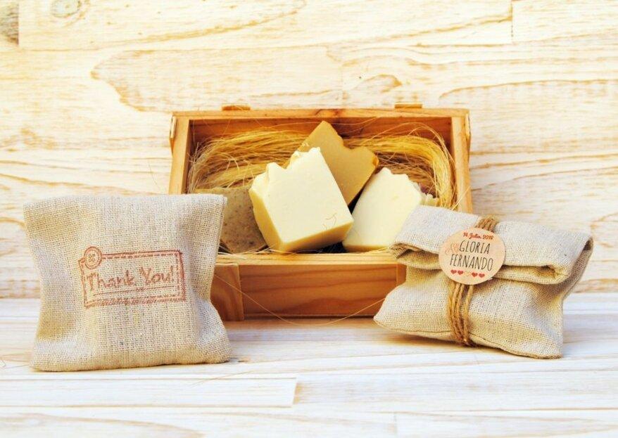 Descubre los detalles de Malinda Naturale: regalos ecológicos, útiles y originales para los invitados de tu boda