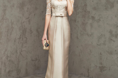 Cómo elegir un vestido de fiesta para una boda en clima frío