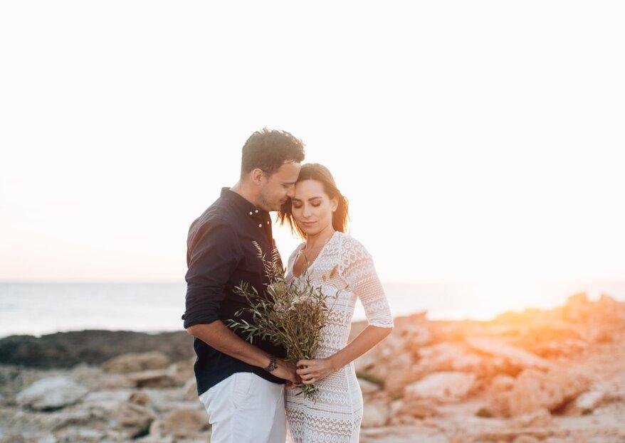 Sesja ślubna na Majorce! Zakochani wśród blacku słońca na plaży. Pięknie!