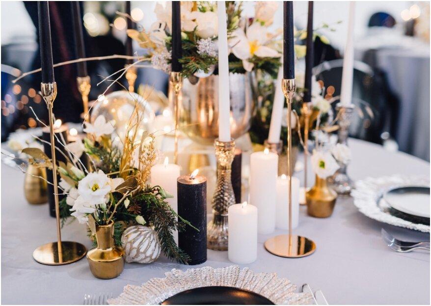 De leukste ideetjes om jullie eigen tafeldecoratie te maken voor de bruiloft!