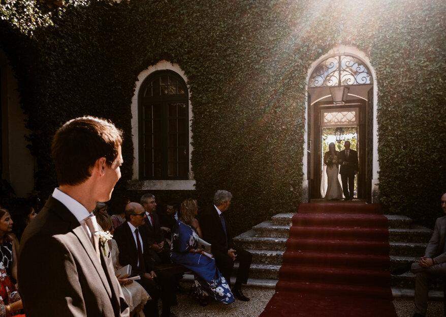 Quem conduz a noiva ao altar?