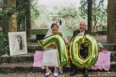 Margarita y David: 70 años de amor verdadero