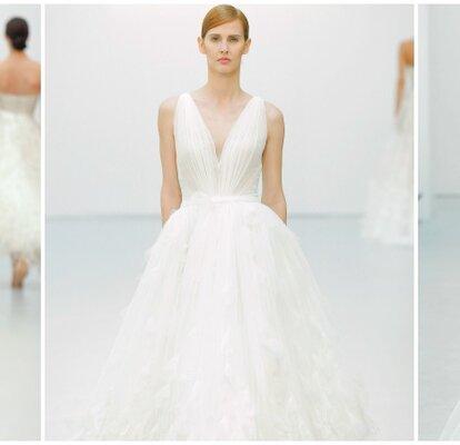 3002f6d56 Vestidos de novia Hannibal Laguna 2016  un glamour de cine