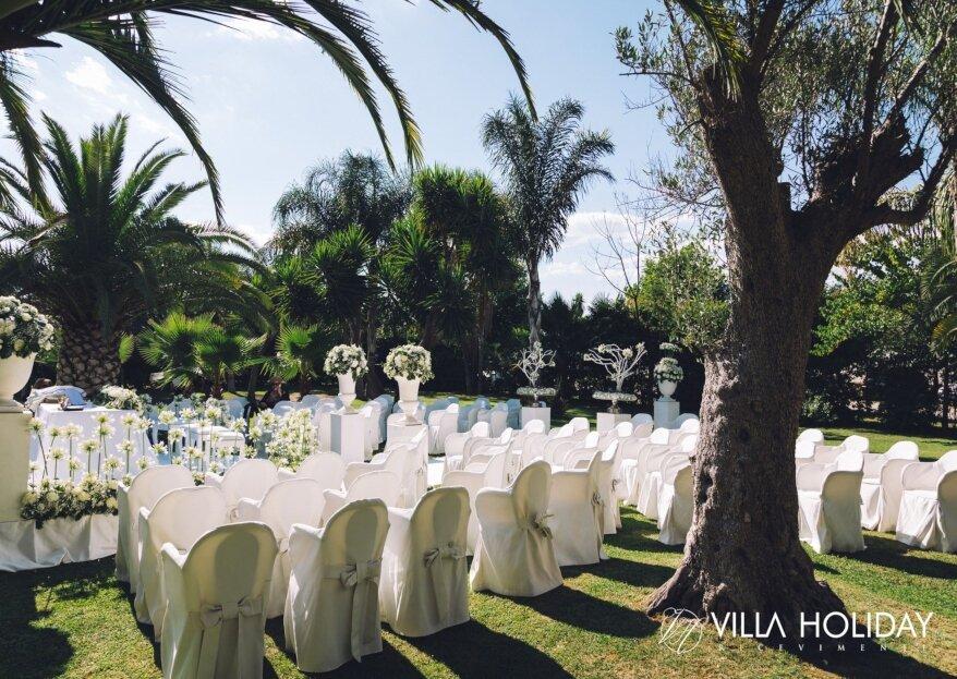 Sposati nella città dell'amore... ma in questa location da sogno: Villa Holiday