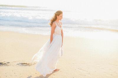 Vestidos de noiva para casamentos na praia que não vai querer perder!
