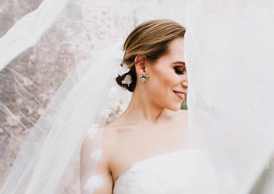 Cómo elegir los accesorios que combinen con tu vestido de novia