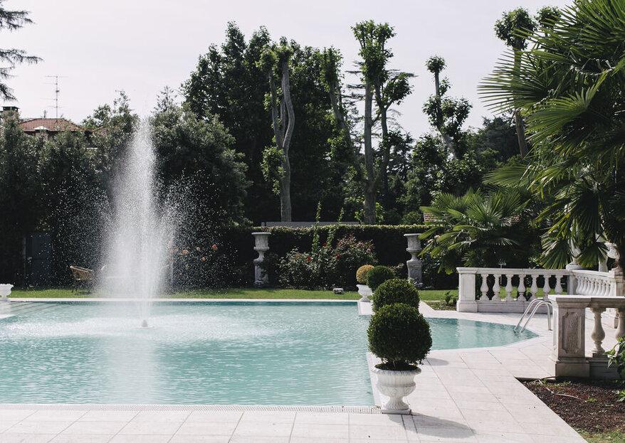 Villa Patrizia di Magnago accoglierà la giornata più romantica della vostra vita vita...