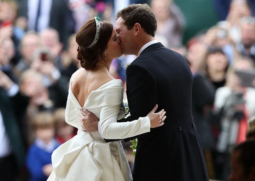 Princesa Eugenie e Jack Brooksbank celebram primeiro aniversário de casamento com vídeo inédito