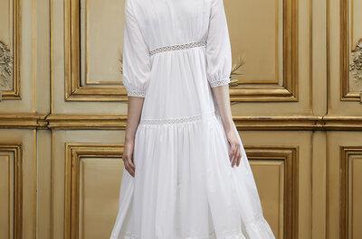 Brautkleider mit A-förmigem Rock: So sorgen Sie für eine schlanke Taille an Ihrem Hochzeitstag!