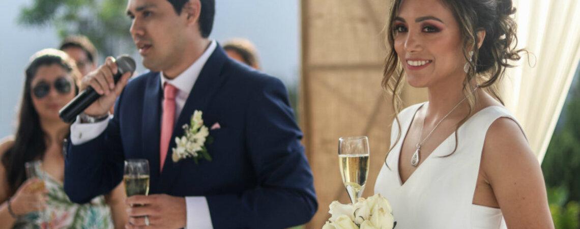 Priscilla y Oscar, ¡un amor que del colegio pasó al matrimonio!