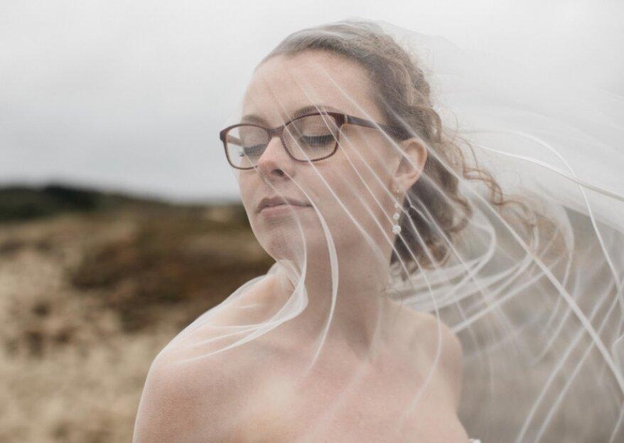 Make-up tips voor bruiden die een bril dragen