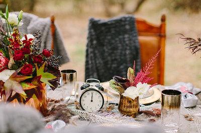 Ele chegou para ficar: inspirações para casamento ao ar livre no inverno