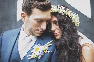 Real Wedding: Boda bohemia inspirada en un festival colorido