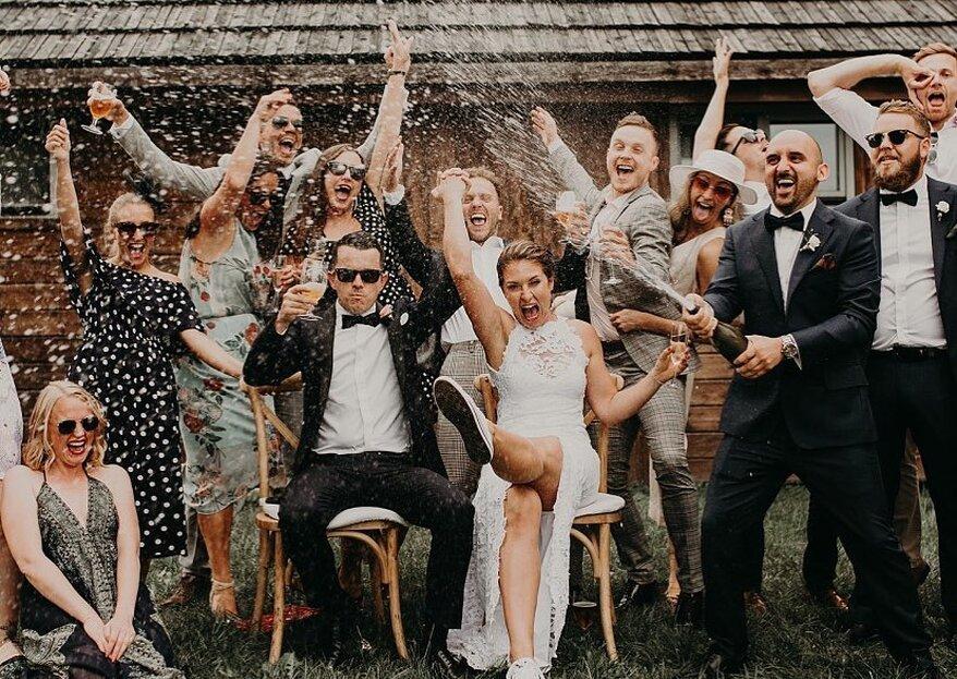 7 façons de remercier ses proches d'avoir contribué au succès du mariage
