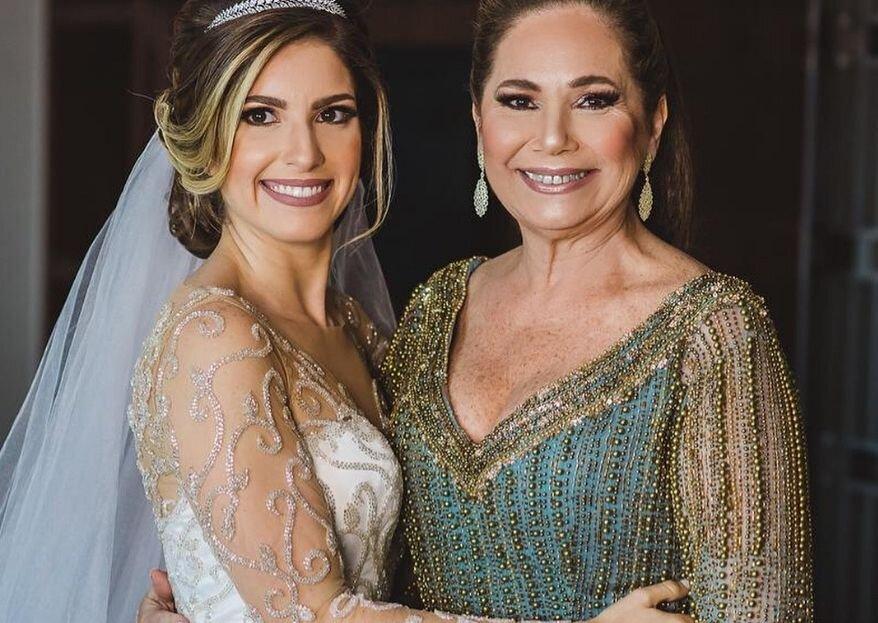 As dicas de Carol Hungria para as mães dos noivos: descubra as tendências e os conselhos da estilista para elas acertarem no look do casamento dos filhos!