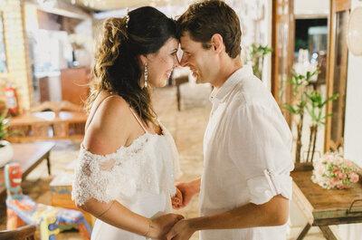 Destination wedding de Camila & Bruno: sol, mar e muito amor envolvido!
