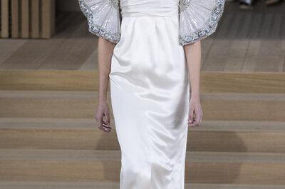 Los 40 vestidos de novia más espectaculares de la semana de la moda alta costura primavera 2016