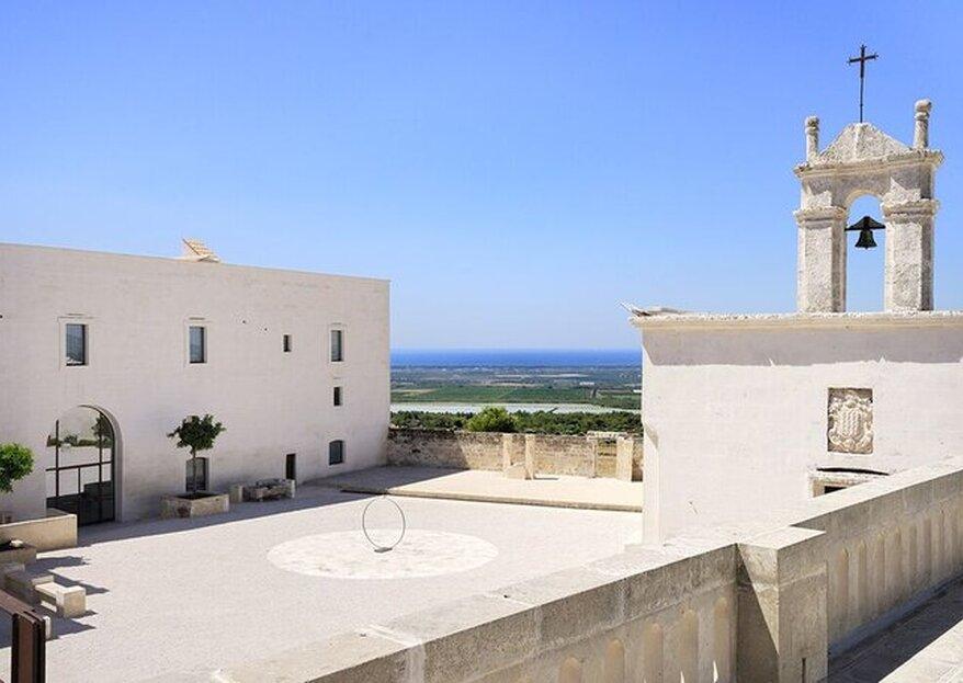 Combine Masseria Amastuola and wine as the main theme of your wedding in Puglia