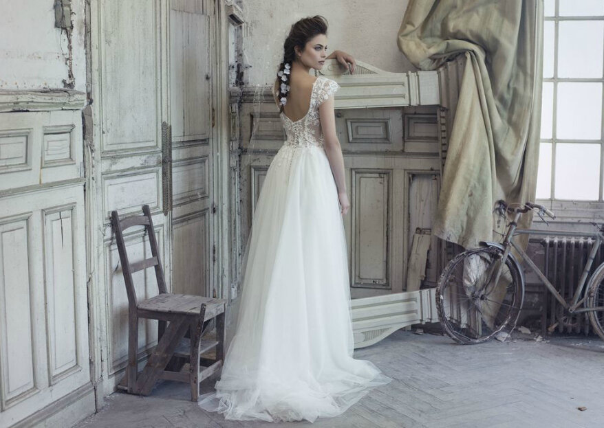 O vestido para cada personalidade: a noiva contemporânea.