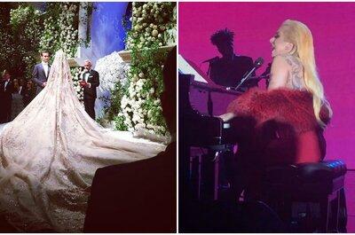 Unglaubliche 10 Millionen Dollar Hochzeit mit Lady Gaga als Showact
