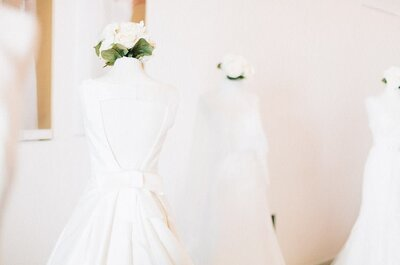 Verão à vista! Vestidos de noiva com decotes generosos nas costas? SIM!