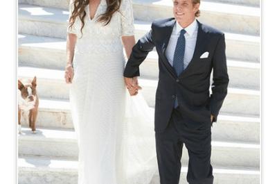 Boda real: Inspírate en el look de novia de Tatiana Santo Domingo