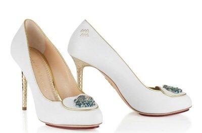 """Charlotte Olympia, la collezione 2014 di scarpe da sposa: """"Runaway Bride"""""""
