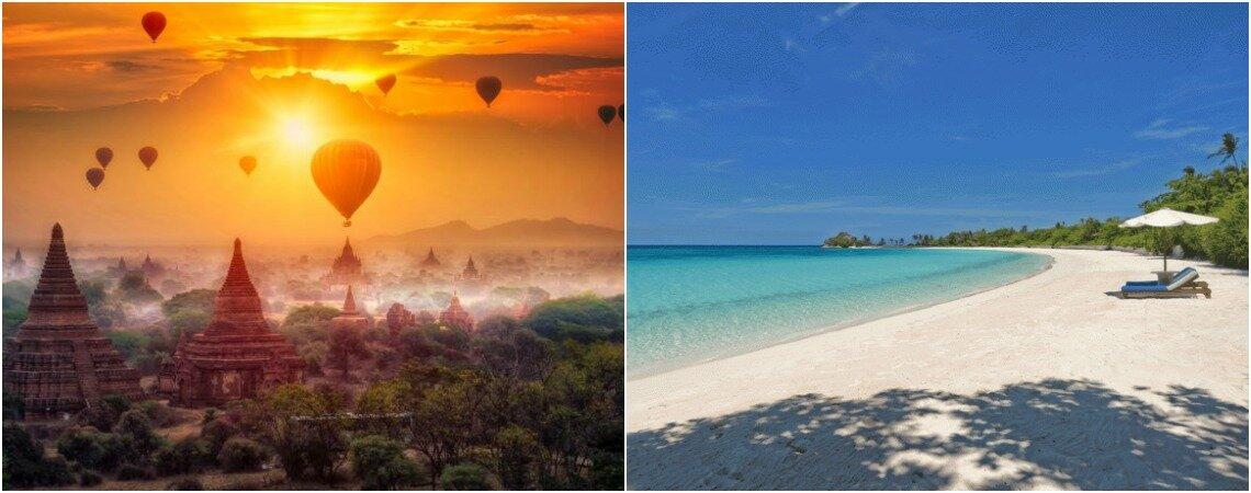 Cinco lugares originales para viajar durante tu luna de - Lunas de miel originales ...