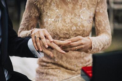 Truques para manter a sua aliança de casamento como nova