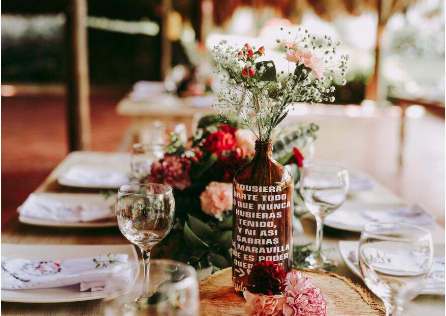 Cómo elegir la decoración de tu boda: ¡sencillo, en 5 pasos te lo contamos!
