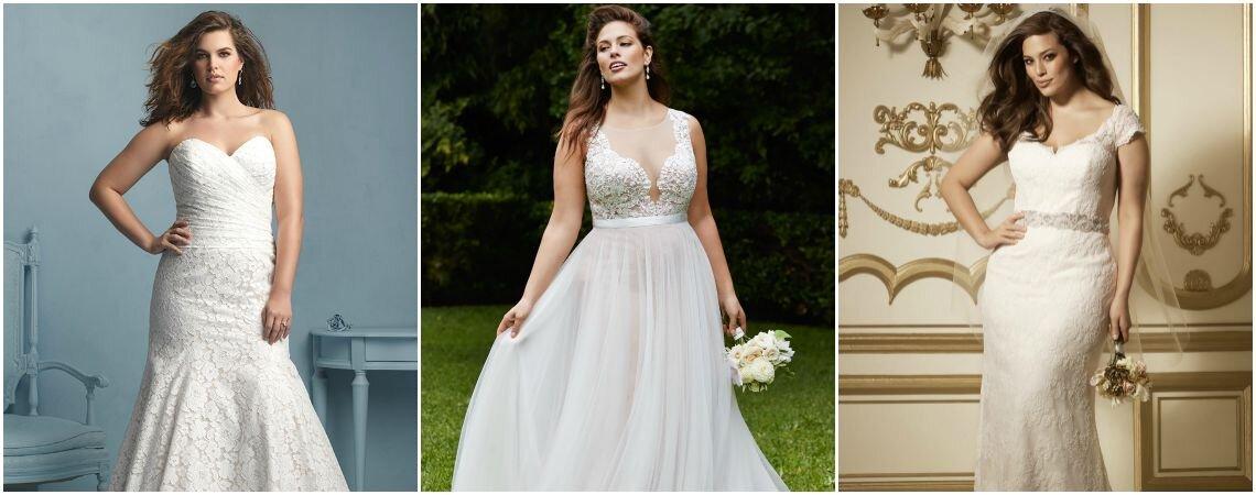 Geniale Brautkleider für die mollige Frau: Weiblichkeit ...