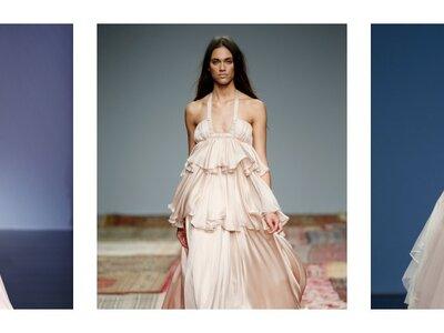 Trendfarbe Rosa – Brautkleider in romantischen Tönen sind 2016 absolut im Kommen!