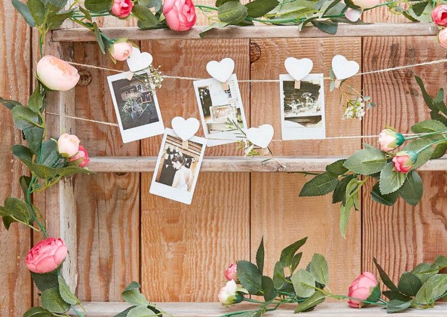 Mariage bohème, romantique, british ou poétique urbain : Décorer Le Bonheur va être votre allié déco !