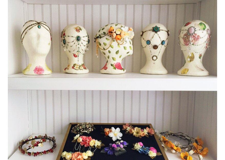 Sorteo en Instagram: luce un hermoso tocado de Locas por las Novias