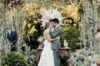 11 vantagens para realizar um casamento lindo durante o dia e ao ar livre