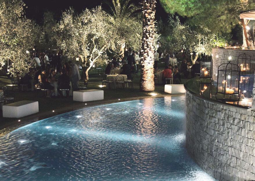 """Villa delle Querce """"romantica poesia"""" fatta location per le vostre nozze"""