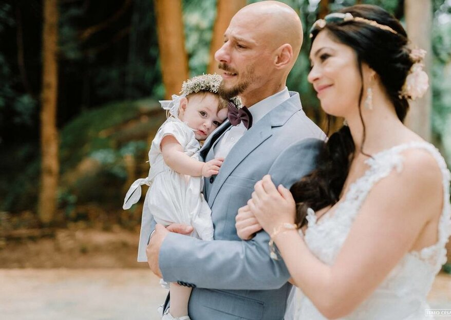 Amor, romance e simbologia: os celebrantes que trazem tudo isso para o seu casamento!