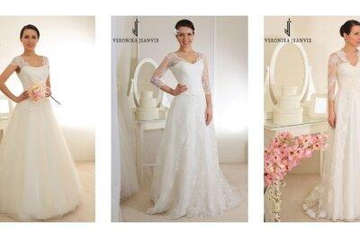 Robes de mariée Veronika Jeanvie 2015 : une collection chic, romantique et féminine