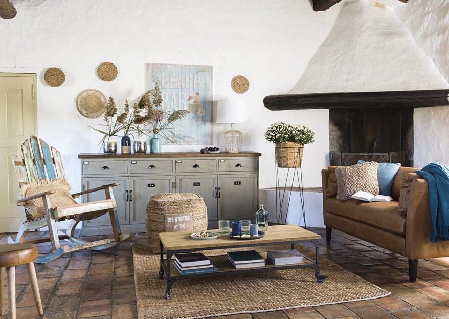 5 tendencias en decoración de primavera para tu hogar