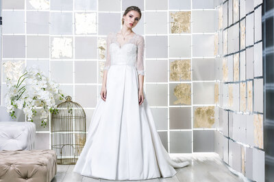6 tipos de mangas compridas para o seu vestido de noiva: que o frio não seja um inconveniente