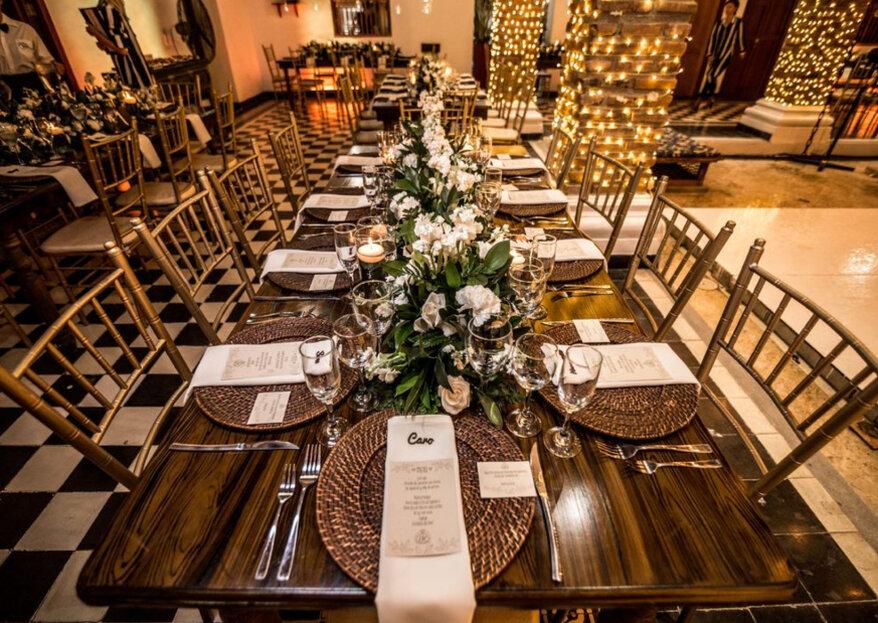 15 espacios para celebrar el matrimonio más elegante